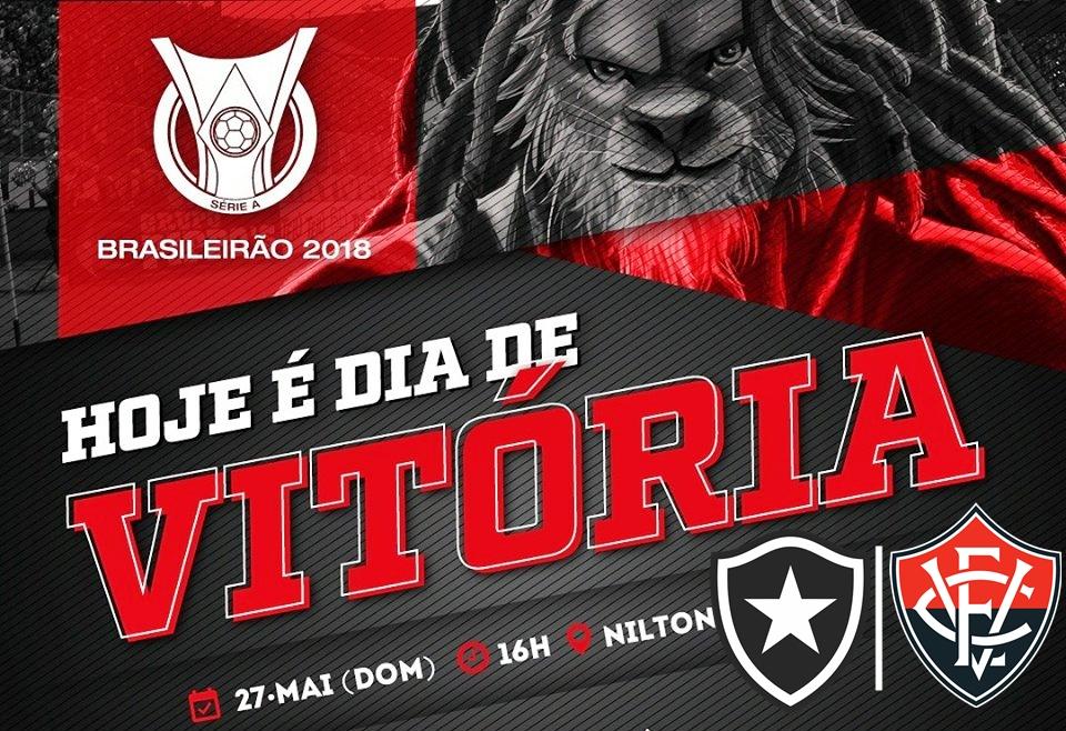 Botafogo x Vitória ao vivo HD pelo Campeonato Brasileiro 1