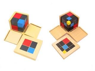 Binomial Cube Montessori