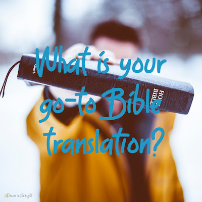 What's your favorite Bible translation?