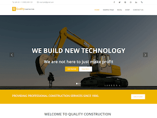 Quality Construction тема WordPress
