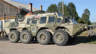 реальный ГАЗ-59037 (бтр-80)