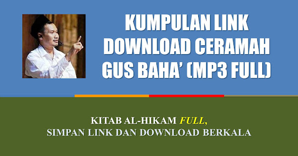 download mp3 gus baha ngaji hikam dan tafsir
