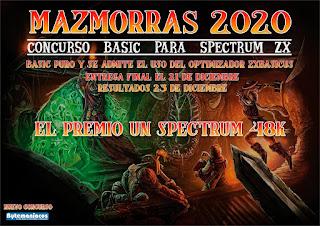 Mazmoras 2020 - Concurso BASIC Spectrum ZX