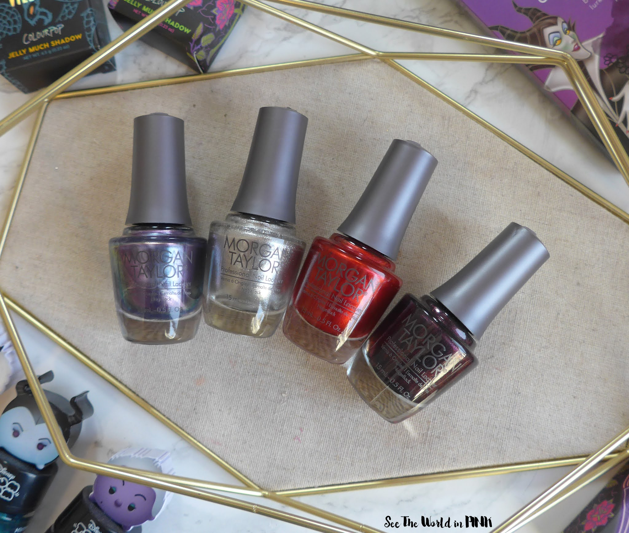 Manicure Monday - Disney Villains Collection by Morgan Taylor