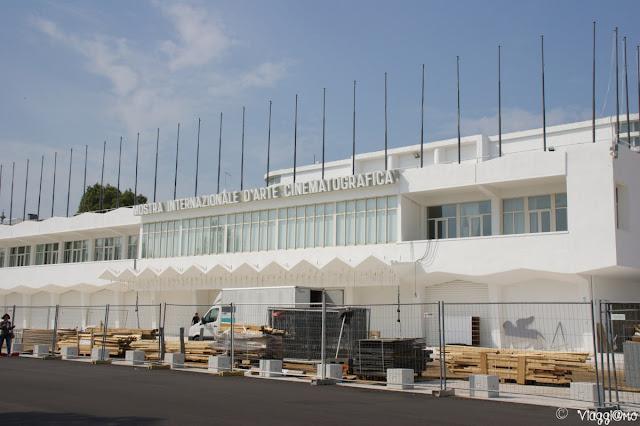 Edificio che ospita la Mostra del Cinema di Venezia