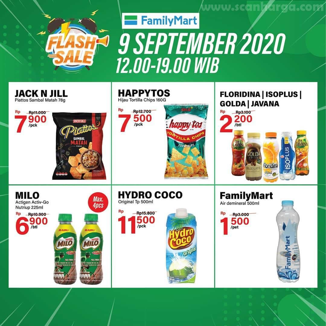 Promo Family Mart Flash Sale Sehari Terbaru 9 September 2020