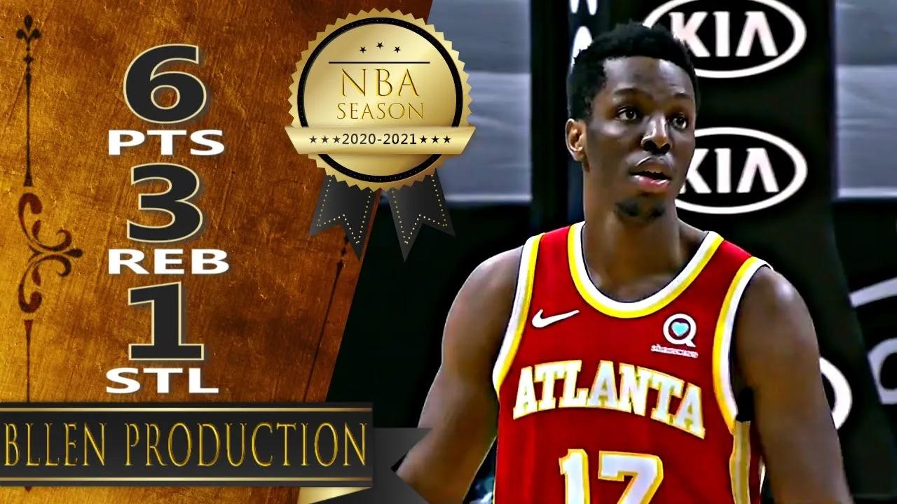 Onyeka Okongwu 6pts vs MIA   March 2, 2021   2020-21 NBA Season