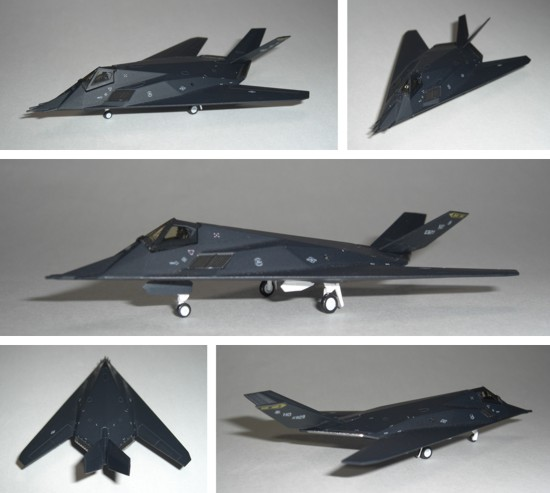 F-117 Nighthawk (1/200)