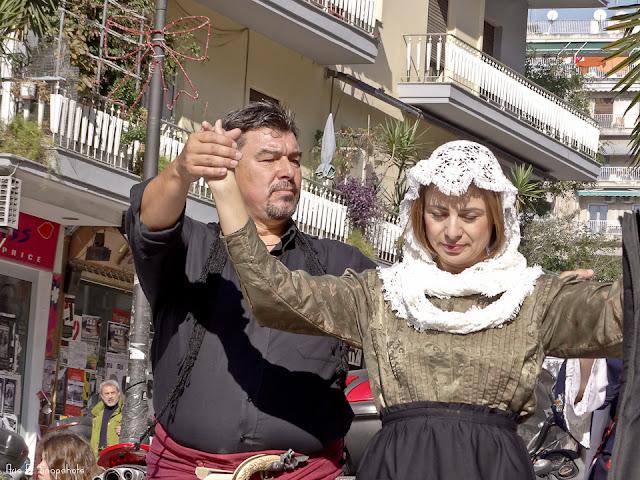 Άρωμα Κρήτης στους δρόμους της Θεσσαλονίκης [βίντεο - φωτογραφίες]