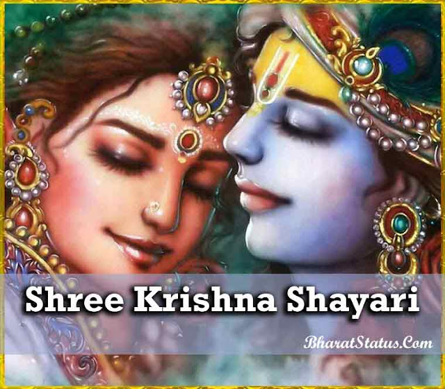 Shree Krishna Shayari Status in HIndi