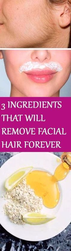 How To Get Rid Of Unwanted Facial Hair Forever  Healthylife-8870