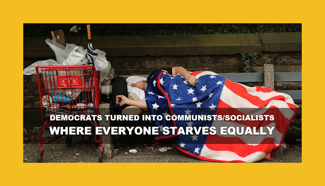 Memes: DEMOCRATS TURNED INTO COMMUNISTS/SOCIALISTS