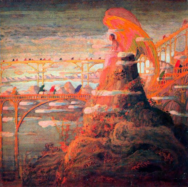Чюрлёнис Микалоюс Константинас - Ангел (Ангельская прелюдия). 1909
