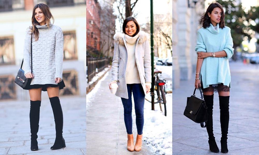 Tricô - Tendências de moda outono/inverno 2017