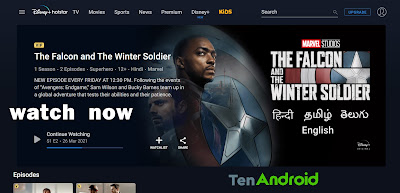 The Falcon and the Winter Soldier Season 1 Episode Download leaked Filmyzilla