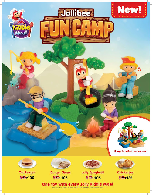 Adventure-filled playtime awaits kids with the new Jollibee Fun Camp toys