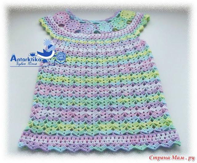 wzor sukieneczki dla dwulatki
