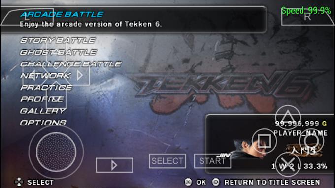 Download Tekken 6 ISO PPSSPP HIGH COMPRESS 370MB