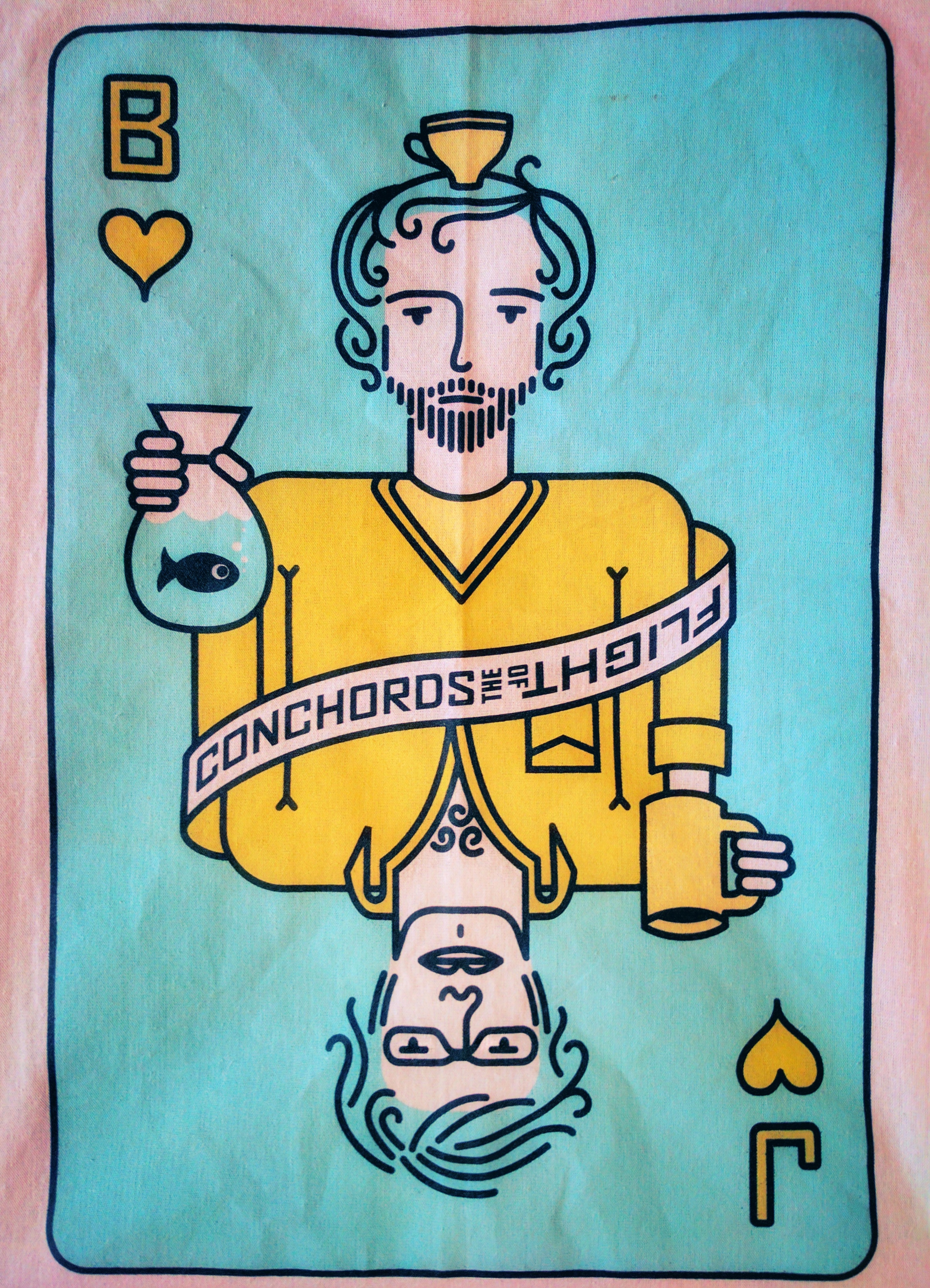 Bret & Jemaine playing card
