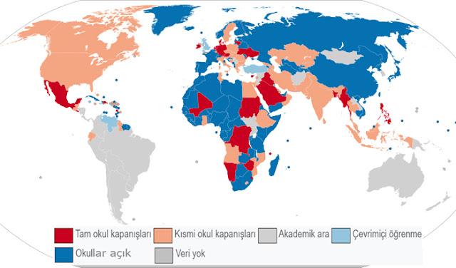 pandemi, eğitim sistemi