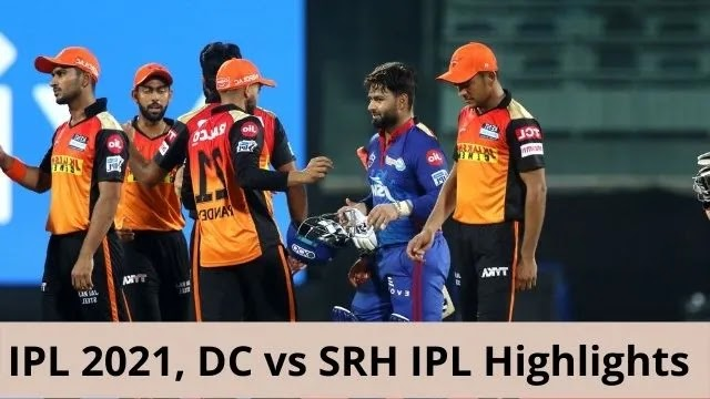 IPL-2021-DC-vs-SRH-IPL-Highlights