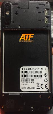 Tecno KC1H Flash File