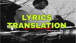 G Shit Lyrics Meaning/Translation in Hindi – Sidhu Moose Wala