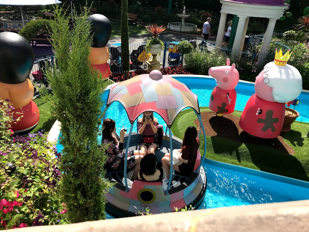 Peppa Pig World At Paultons Park The Best Family Theme Park Run