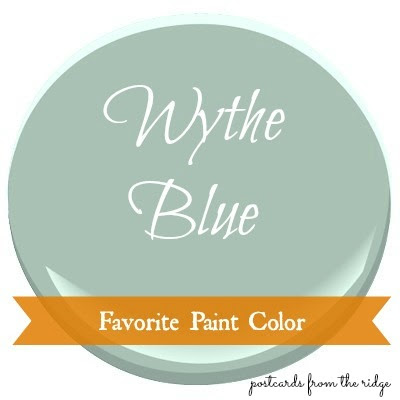 Favorite Paint Color Benjamin Moore Wythe Blue