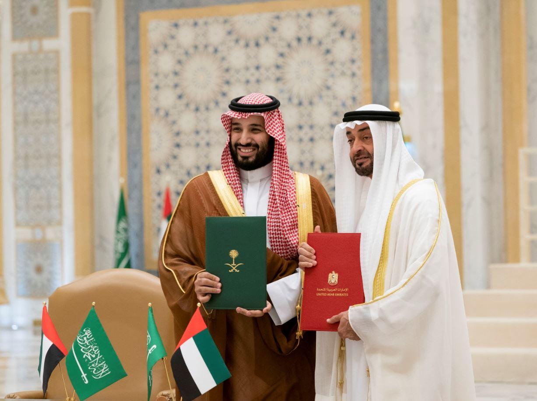 الإمارات مع السعودية Saudi قلبا وقالبا