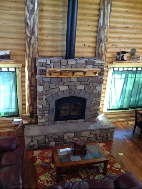 Stallings Sheet Metal Stove Fireplace Installation Pics