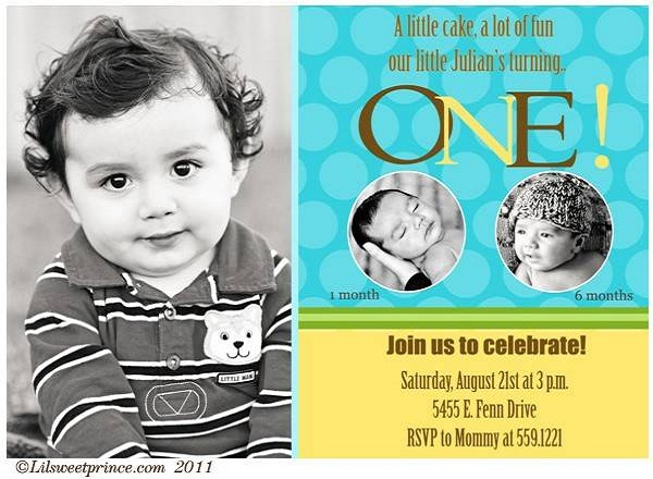 First Birthday Invitation Cards For Baby Boy Girl Romantic - Birthday invitations for baby boy 1st