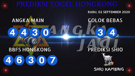 Prediksi Angka jitu Togel Hongkong Rabu 02 September 2020