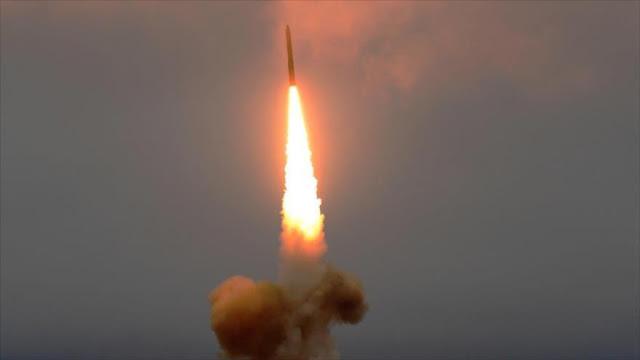 Resultado de imagen de misil balístico yemení