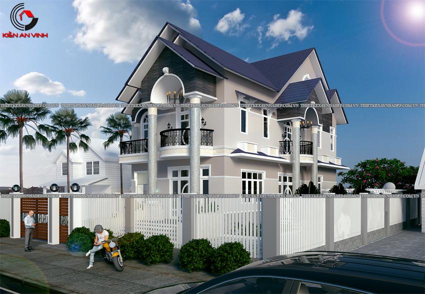 Mẫu thiết kế biệt thự nhà vườn 1 tầng đẹp hiện đại dt 150m2 Thiet-ke-biet-thu-1-tang-150m2-1