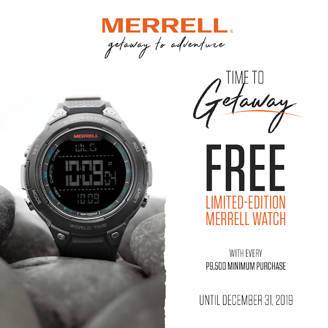 FREE WATCH from MERRELL