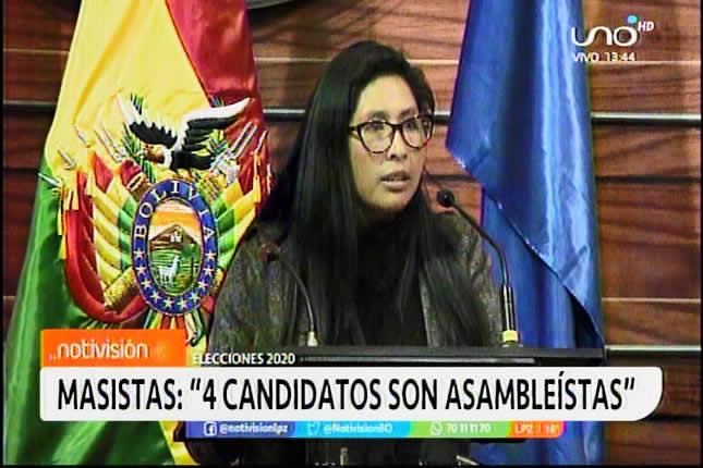 Hay malestar en el MAS por dejar fuera a Eva Copa y Omar Aguilar de listas parlamentarias