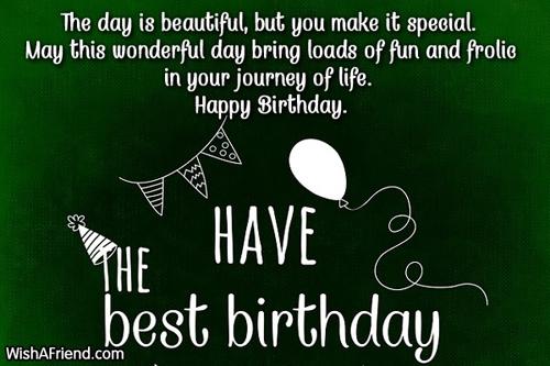 Happy Birthday Sayings