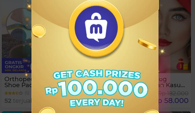 Cara Mendapatkan Uang Gratis 100 ribu dari Aplikasi Mucho Android