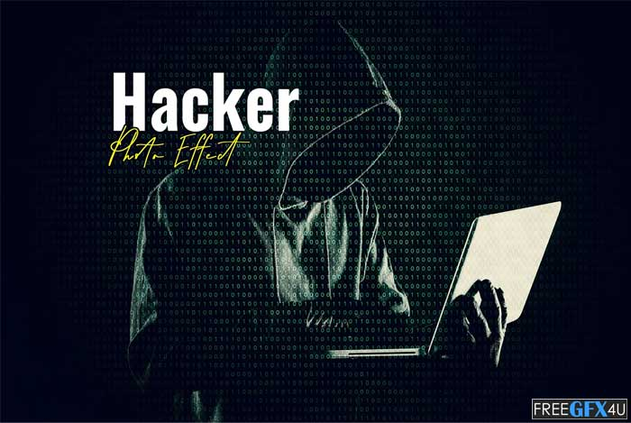 Hacker Matrix Photo Effect