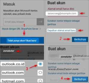 Cara Buat Akun Microsoft ID Baru Lewat Hp Android