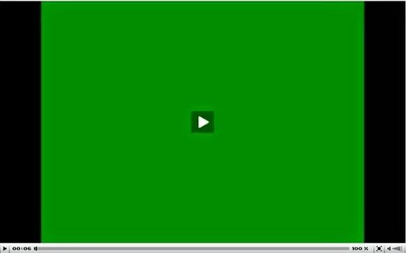 Видео в социальной сети вконтакте зеленое.