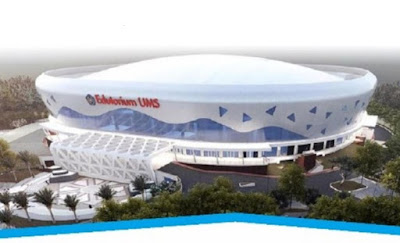 Edutorium UMS, Bangunan Berkapasitas 7000 Orang, Mirip Stadion Allianz