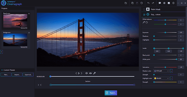 Screenshot Ashampoo Cinemagraph 1.0.2 Full Version