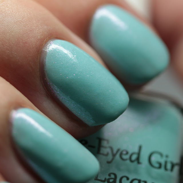 Blue-Eyed Girl Lacquer When the Nights Grow Cold