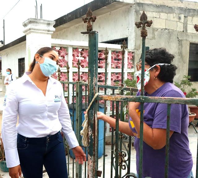 Pili Santos se compromete a ser una gestora integral