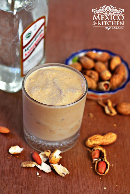 Peanut Torito Cocktail Veracruz recipe
