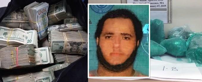 Narco dominicano sentenciado a 45 años en New Hampshire y le confiscarán US$2MM en bancos de República Dominicana
