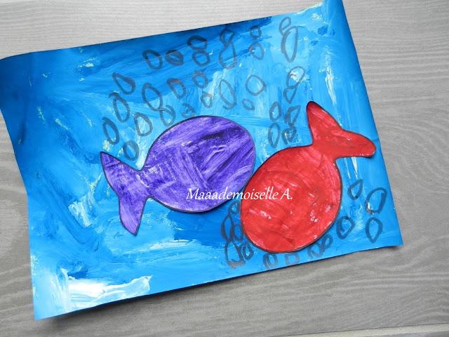 || Activité : Les petits poissons dans l'eau