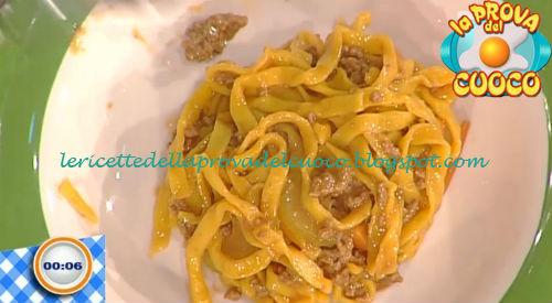 Tagliolini alla milanese ricetta Gandola da Prova del Cuoco
